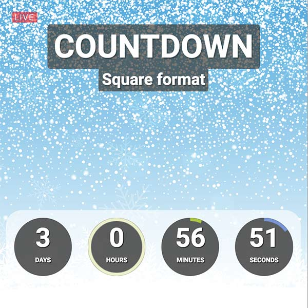 Facebook Live Countdown