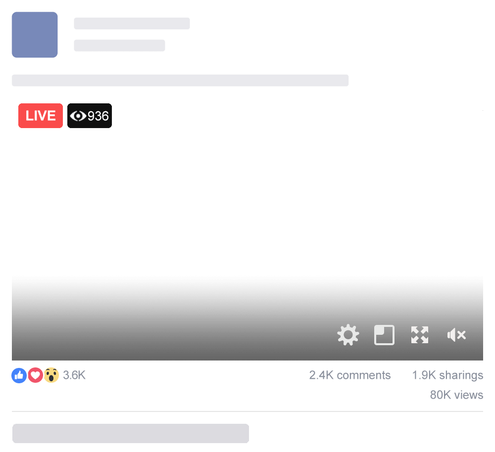 Facebook Live Countdown | LiveReacting